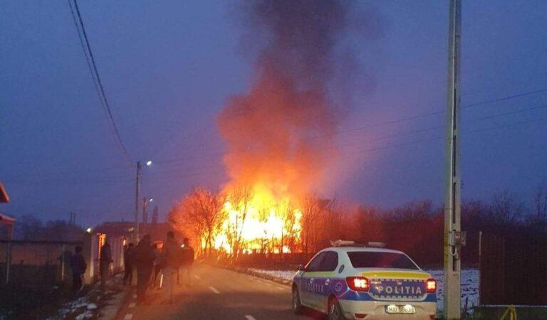 Incendiu la o locuință particulară din Cordun
