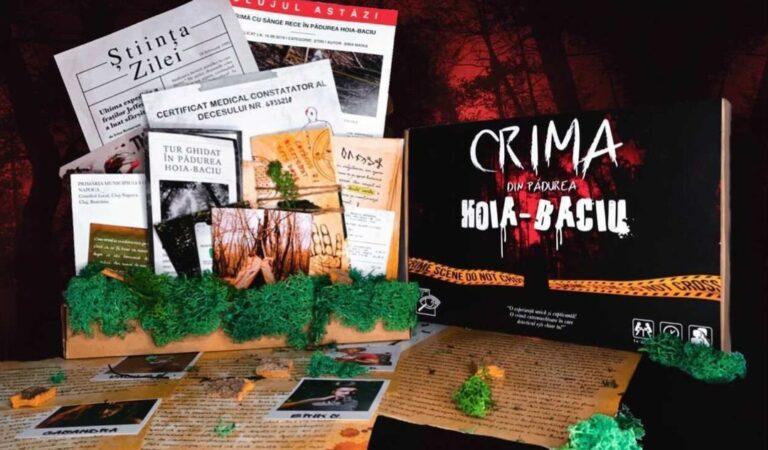 """Doi studenți la medicină au creat """"Crima din Pădurea Hoia-Baciu"""""""