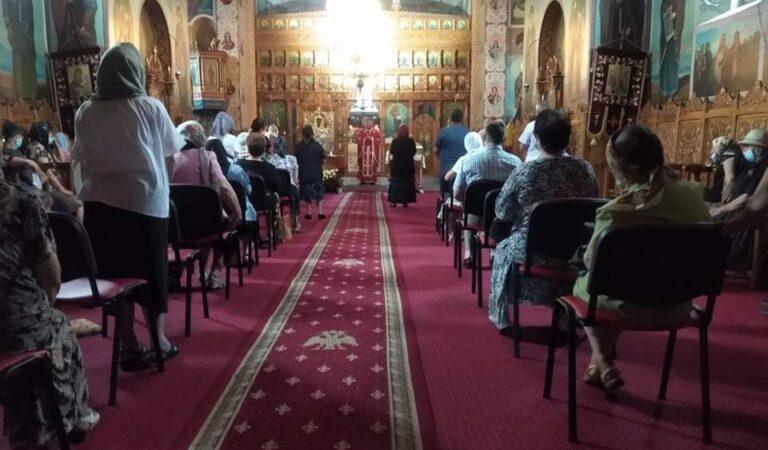 Schimbarea la Față a Domnului, sărbătorită de romașcani