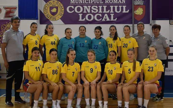 C.S.M. Roman va debuta duminică în Campionatul național de handbal feminin